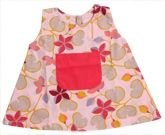 Baby Baya - Sleeveless Fock With Floral Print