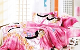 Disney Princess - Pink Angel Single Bed Sheet