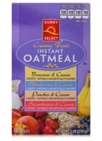 Sunny Select Creamy Fruit Instant Oatmeal