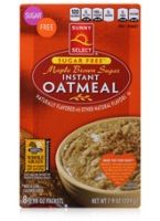 Sunny Select Sugar Free Maple Brown Sugar Instant Oatmeal