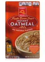 Sunny Select Mapple Brown Sugar Instant Oatmeal