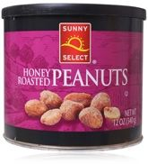 Sunny Select Honey Roasted Peanuts