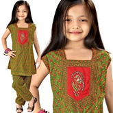 Little India - Bagru Designer Sanganeri Cotton Salwar Suit