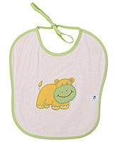 Duck Bib - Hippo Print
