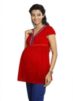 Nine - Maternity Top Knitted Lace Work