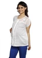 Buy Nine Maternity Top with Cap Sleeves