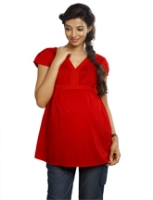 Buy Nine Maternity Top With Lace work