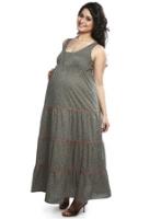 Buy Nine - Maternity Wear Tiered Dress