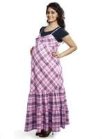 Buy Nine - Maternity Dress With Mock T-shirt