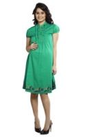 Buy Nine - Maternity Dress Hem Embroidery