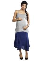 Nine - Maternity Skirt With Waist Band