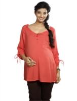 Buy Nine - Front Tie up Maternity Top