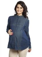 Nine - Full Sleeves Maternity Shirt