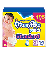 MamyPoko Pants Standard Pant Style Diapers XL - 14 Pieces