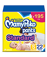 Mamy Poko Pants Standard Pant Style Diapers Small - 22 Pieces