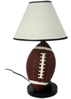 Rugby Table Lamp 24 x 44 cm, Unique rugby themed table lamp for sport...