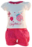 Nauti Nati - Printed Short Sleeves Top And Shorts Set