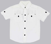 Buy Shopper Tree -  Short Sleeves White Shirt