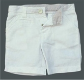 ShopperTree - Comfortable White Shorts