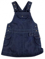 ShopperTree - Denim Dungaree