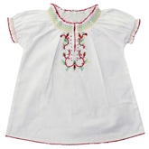 Shopper Tree -Half Sleeves Top With Embroidery