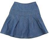 Shopper Tree - Blue Knee Length Skirt