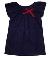 Campana - Short sleeves top with a bow