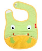 Frog Face Bib