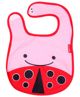 Pink And Red Bib