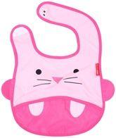 Pink Cat Face Bib