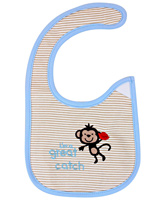 Carter - Embroidered Baby Bib