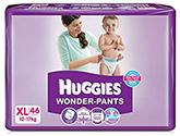 Huggies Wonder Pants XL - 46 Pieces