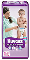 Huggies Wonder Pants XL - 32 Pieces