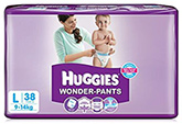 Huggies Wonder Pants Large - 38 Pieces