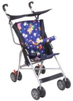 New Natraj - Umbrella Buggy DLX Blue