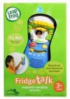 Leap Frog - Fridge Talk Magnetic Wordpla... 3 Years+, Record & show the words you know!