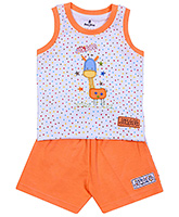 Child World - Sleeveless T-Shirt & Shorts Set