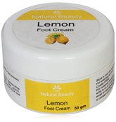 Natural Beauty Lemon Foot Cream