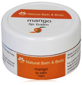 Natural Bath & Body Mango Lip Balm
