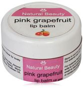 Natural Bath & Body Grape Fruit Lip Balm