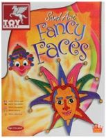 Toy Kraft - Sand Art Fancy Faces