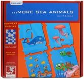 Toy Kraft - Sea Animals Puzzle