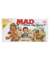 Mad Magazine The What - Me Worry Game 8 Years+, 2-4 Players, First player to LOSE all mone...