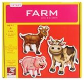 Toy Kraft - Head And Tail Farm Puzzle