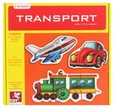 Toy Kraft - Transport Vehicles Puzzle