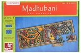 Toy Kraft - Madhubani Art Puzzle Set