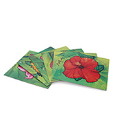 Toy Kraft - Flowers Shaped Puzzle