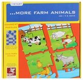 Toys Kraft - Farm Animals Puzzle