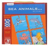 Sea Life Puzzle 4 Years+, Explore Sea Animals Through This Fun Four ...