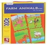 Toy Kraft - Farm Animal Puzzle Set